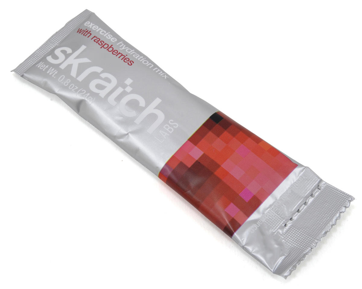 Skratch Labs Exercise Hydration Mix Single Sticks (Box of 20) (Raspberries)