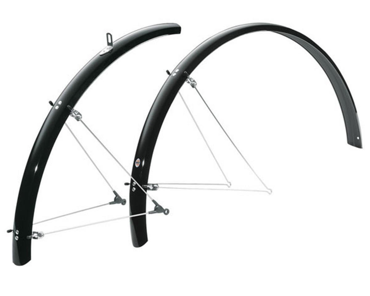 B42 Commuter II Bolt-On Fender Set (700 x 25-35) (Black)