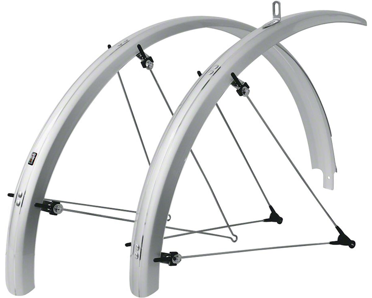 SKS B60 Commuter II Fender Set (Silver) (Fits 26 x 1.6-2.1)