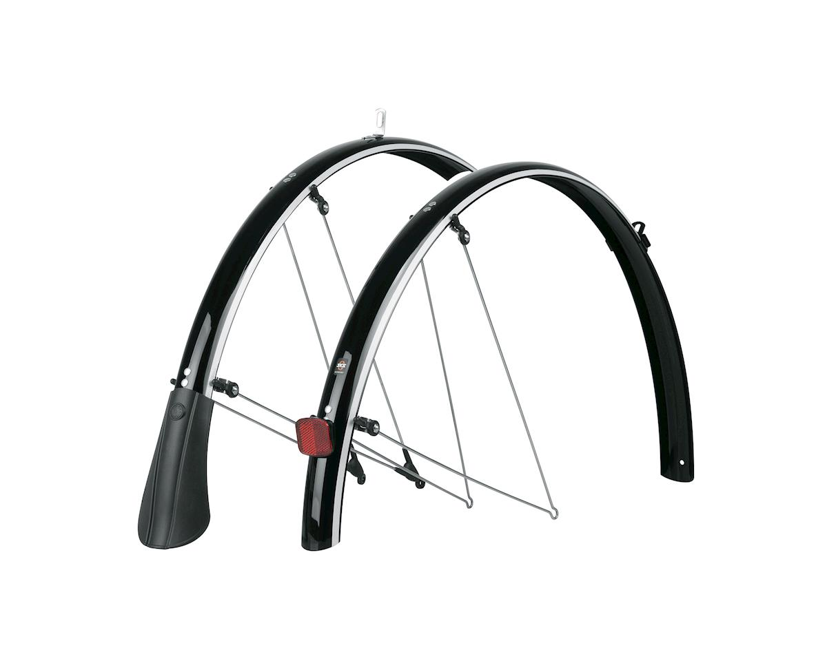 SKS B45 Reflective Commuter II Fender (Black) (700 x 25-38)