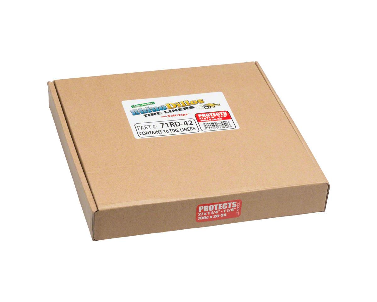Rhinodillos Tire Liner: 700 x 28-35, Packaged in Bulk Box of 10