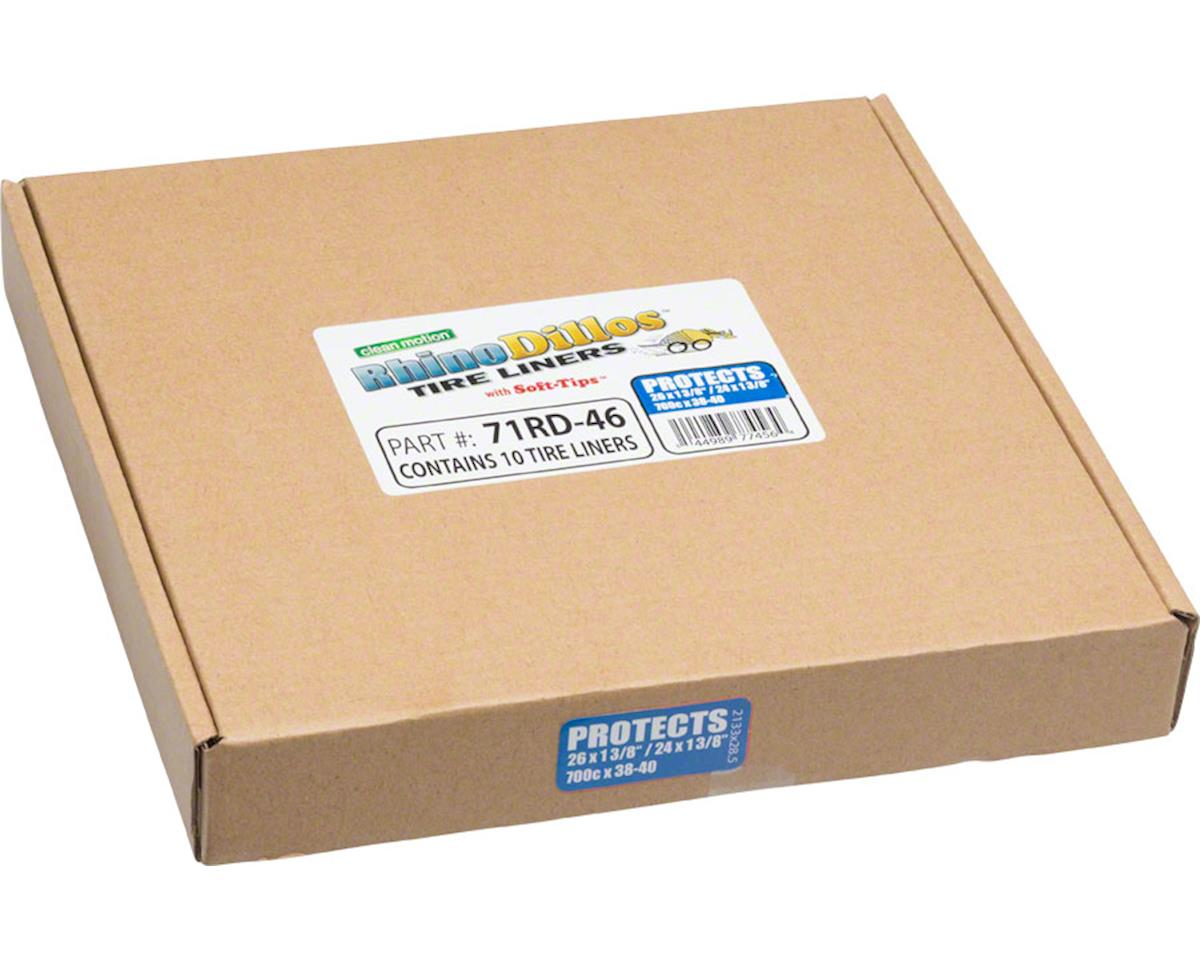 Rhinodillos Tire Liner: 700 x 38-42, Packaged in Bulk Box of 10