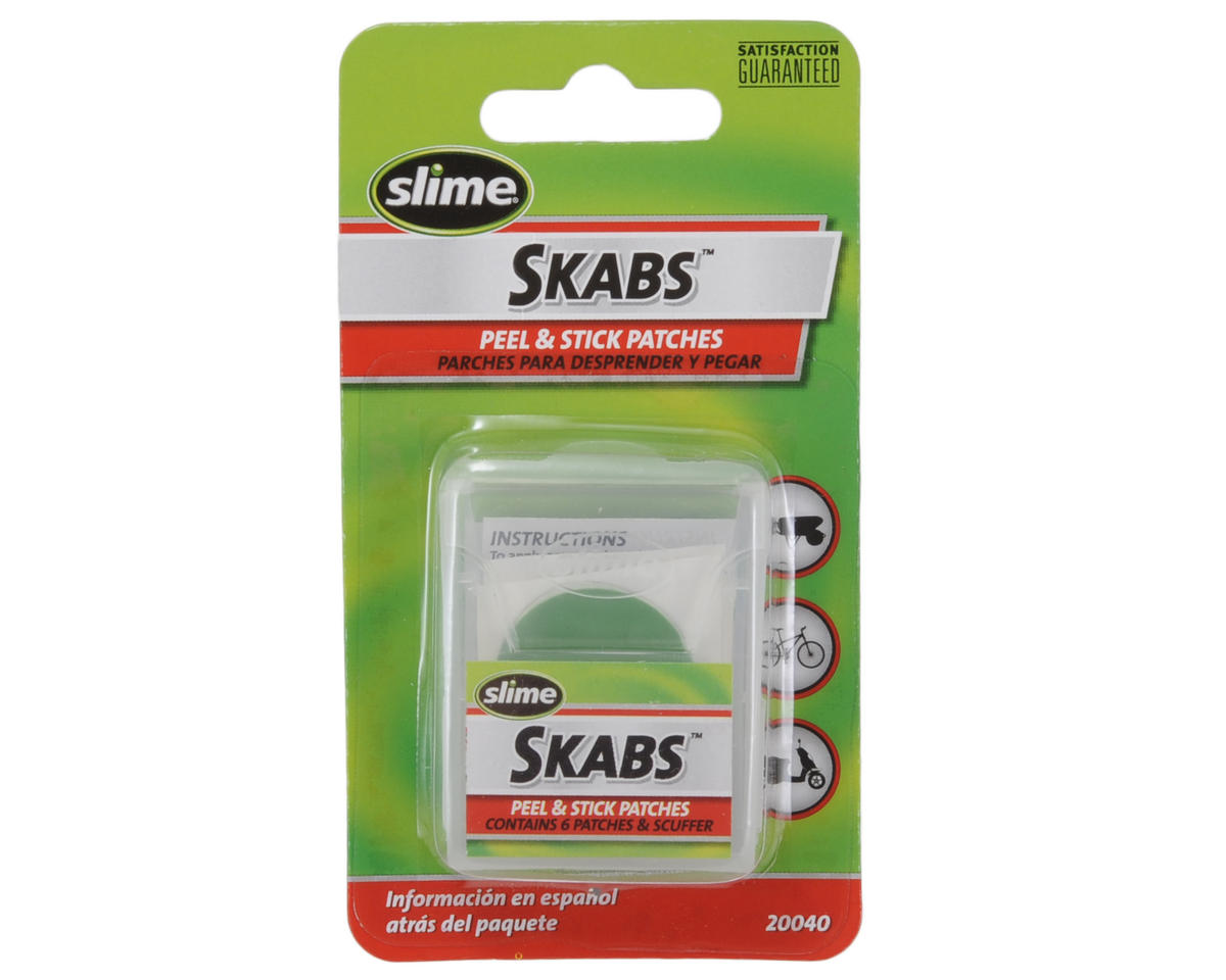 Slime Skabs Glueless Patch Kit (6-Pack)
