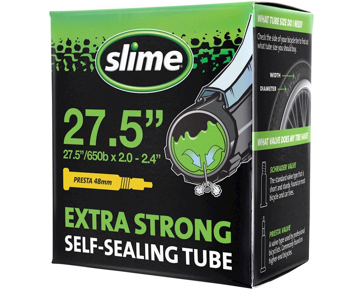 """Slime Self-Sealing Tube 27.5"""" x 2.0-2.4"""", 32mm Presta Valve"""