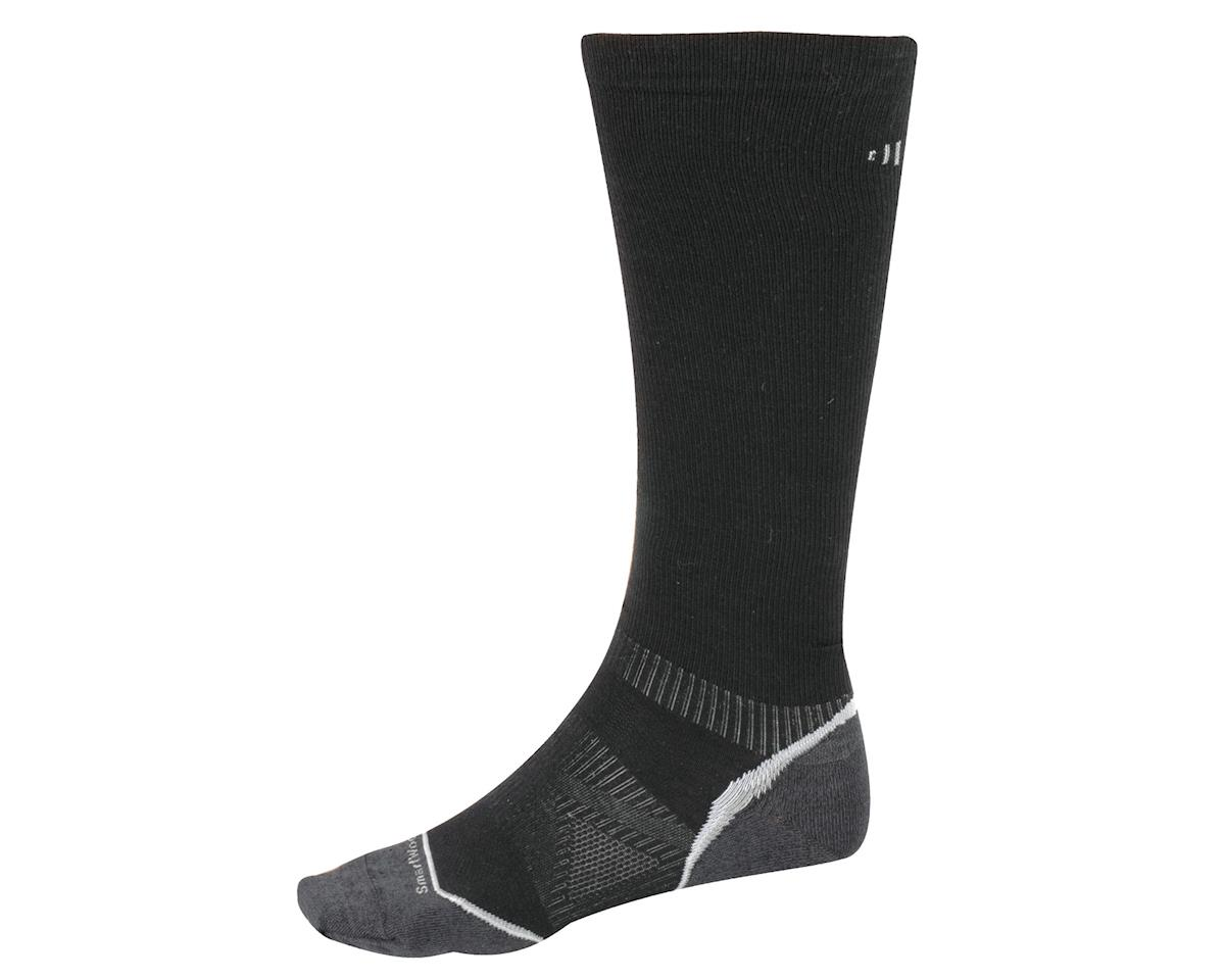 Smartwool PhD Run Graduated Compression Ultra Light Socks (Black)