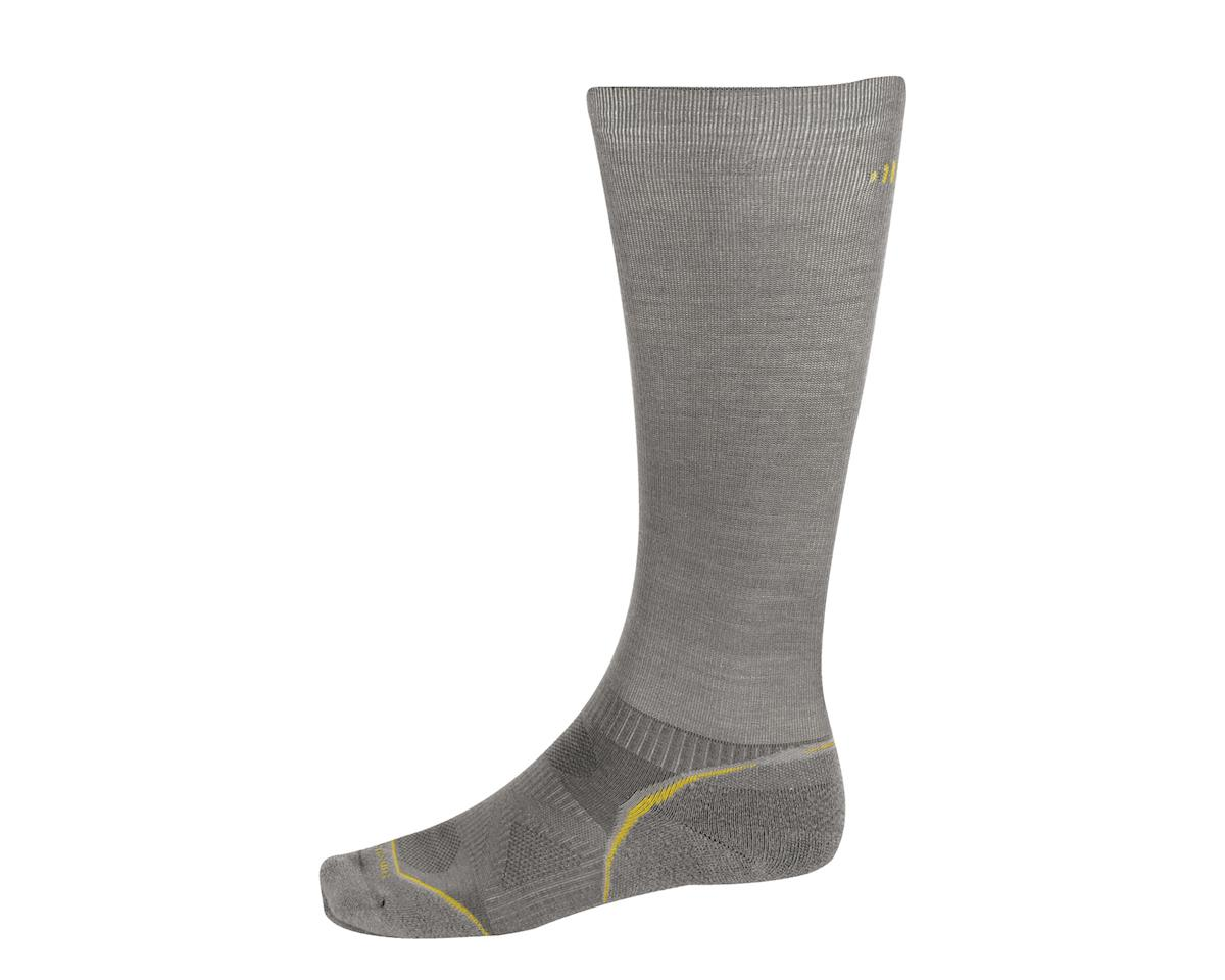 Smartwool PhD Run Graduated Compression Light Socks (Grey)