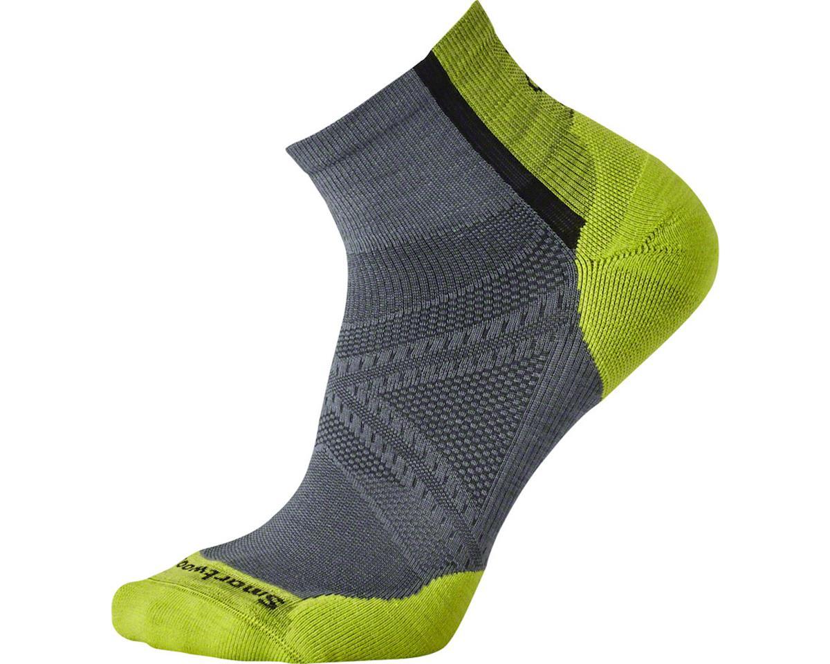 PhD Cycle Light Elite Men's Mini Sock: Graphite XL