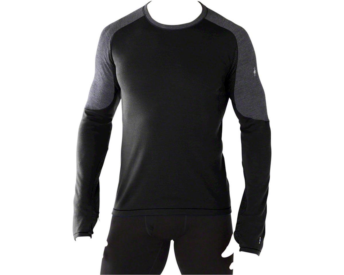 PhD Light Men's Long Sleeve Base Layer Top: Black LG