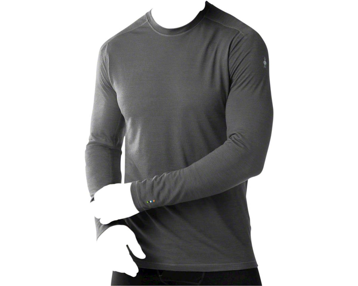 Smartwool PhD Ultra Light Men's Long Sleeve T-Shirt: Charcoal LG
