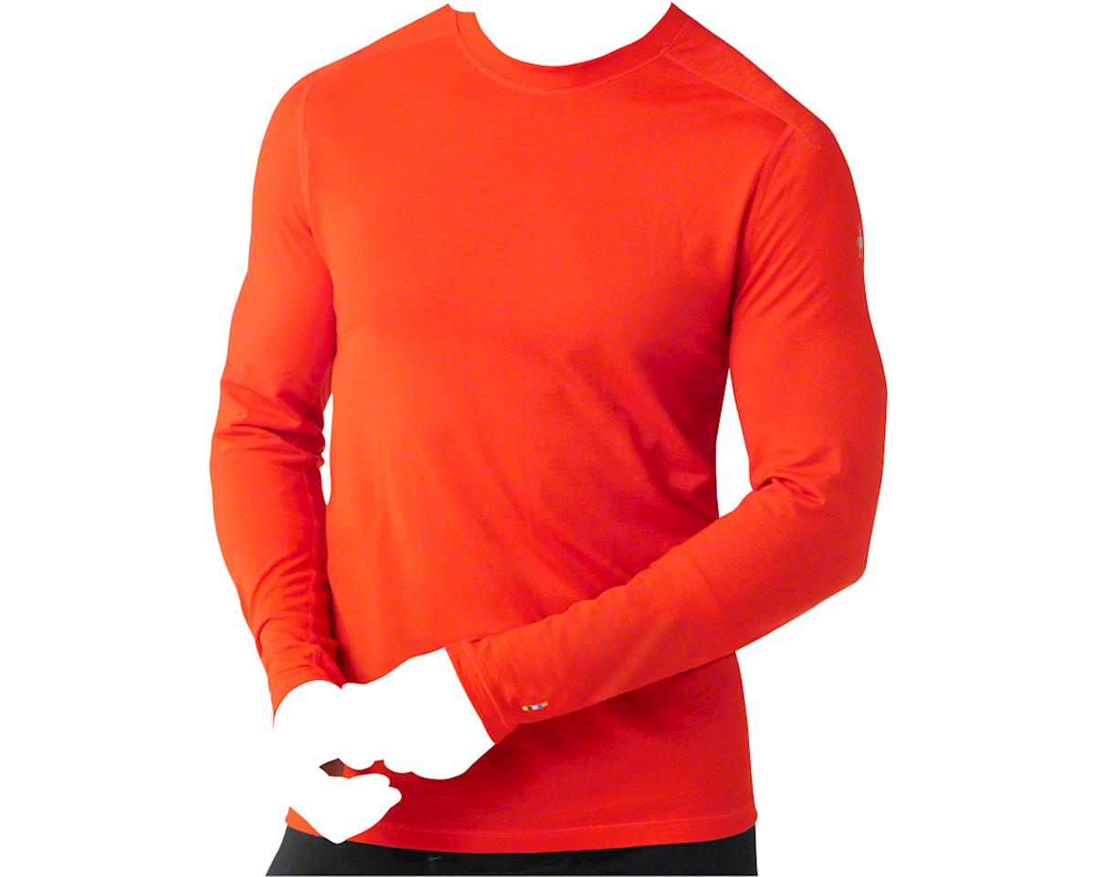 Smartwool PhD Ultra Light Men's Long Sleeve T-Shirt: Bright Orange SM