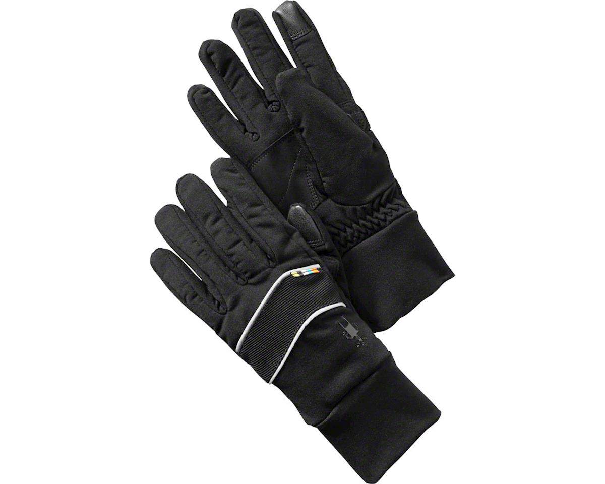 Smartwool PhD Insulated Training Glove: Black LG
