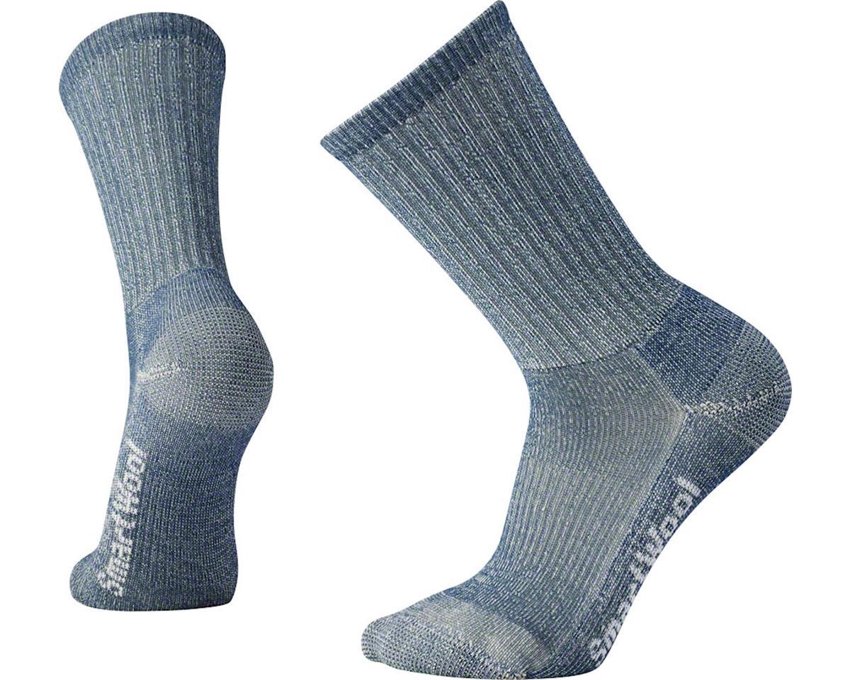 Hike Light Men's Crew Sock: Gray MD