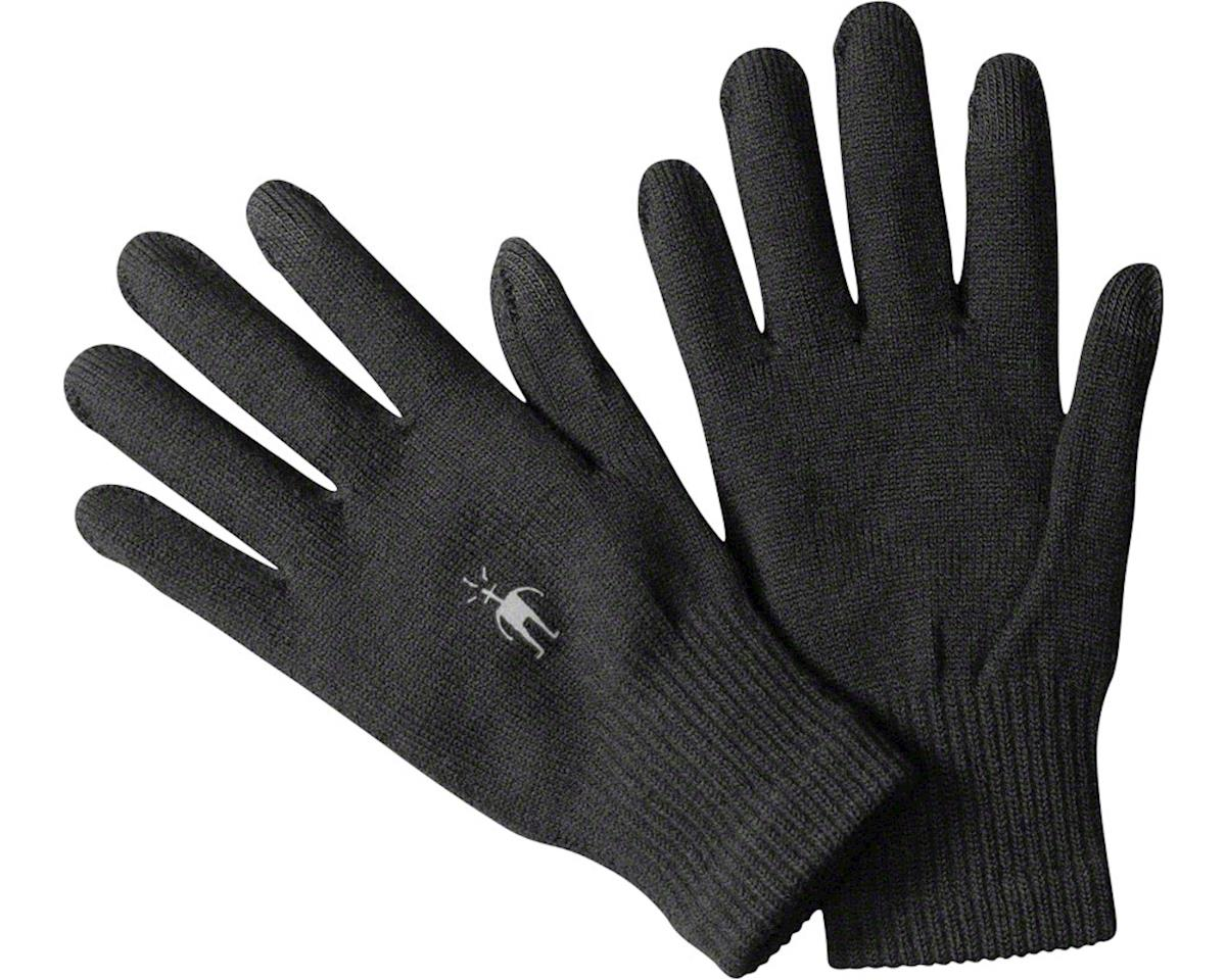 Smartwool Liner Glove: Black MD