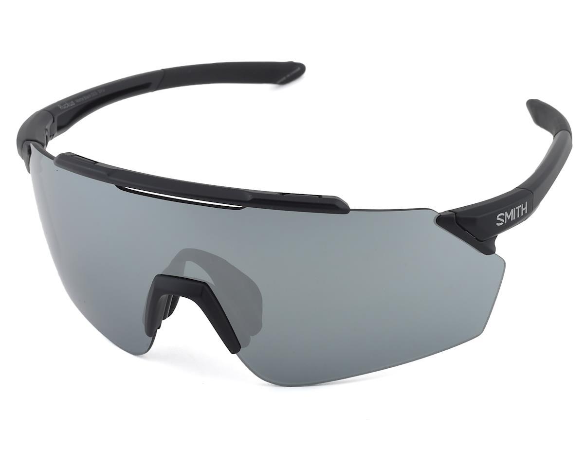 Smith Ruckus Sunglasses (Matte Black) (ChromaPop Platinum Mirror)