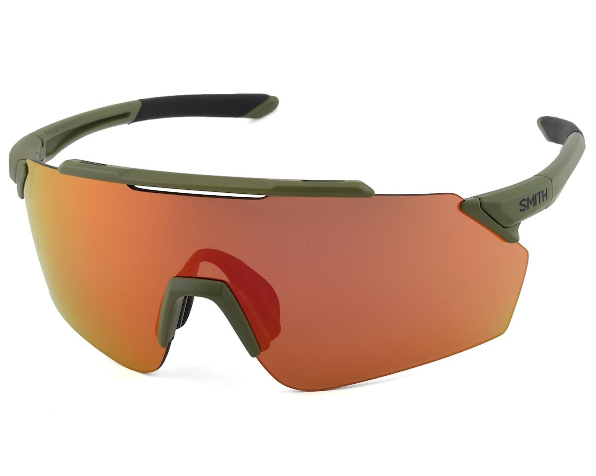 Smith Ruckus Sunglasses (Matte Moss) (ChromaPop Red Mirror)