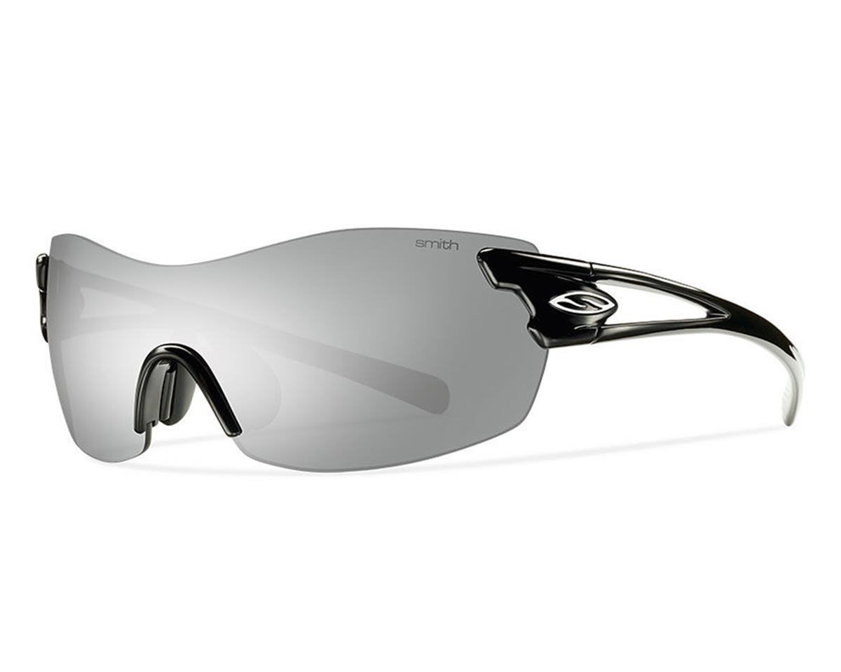 Smith Pivlock Asana Performance Sunglasses (Black) (Platinum/Clear/Ignitor)