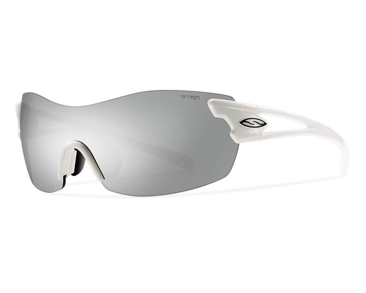 Smith Pivlock Asana Performance Sunglasses (White) (Platinum/Clear/Ignitor)