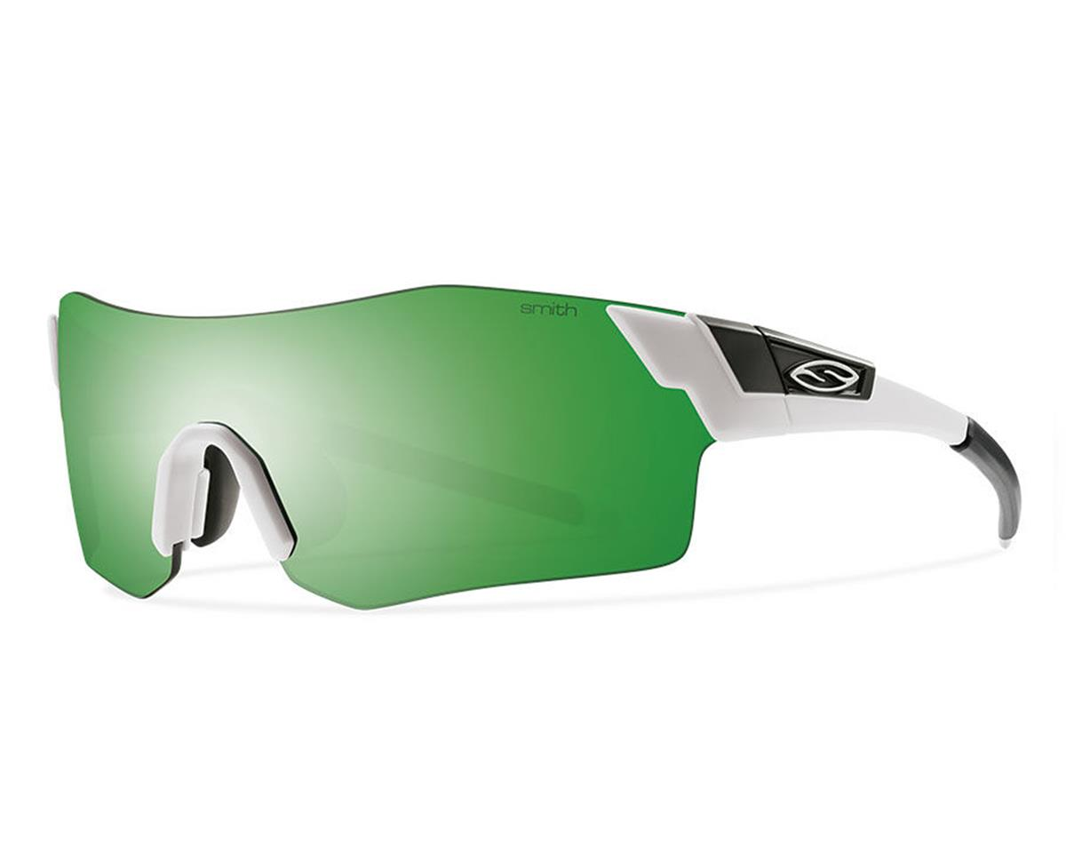 Smith Pivlock Arena Sunglasses (Matte White) (Green SOL-X/Clear/Ignitor)