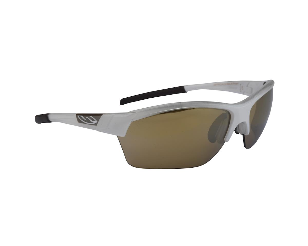 Image 1 for Smith Approach Max Multi-Lens Sunglasses (White Pearl Bronze)
