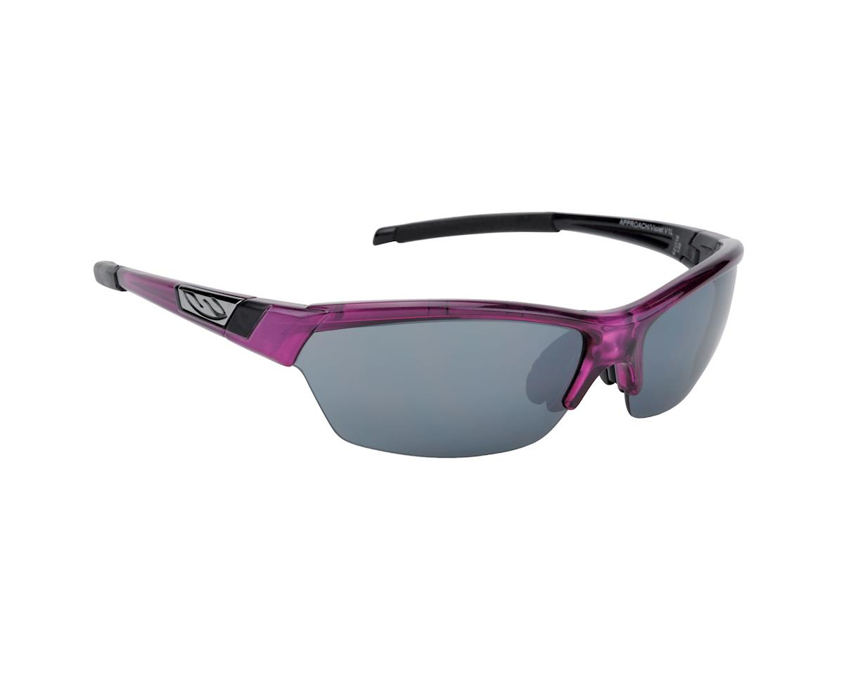 Image 1 for Smith Approach Sunglasses (Violet/ Platinum)