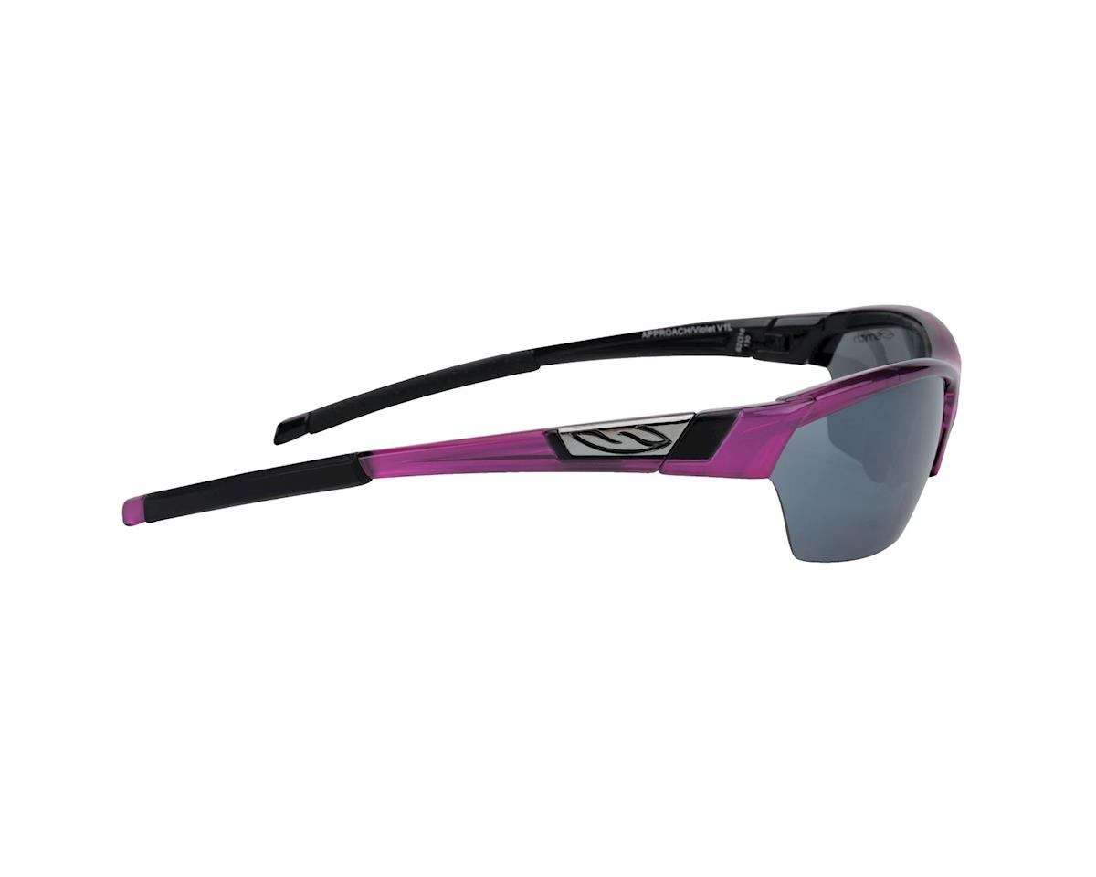Image 3 for Smith Approach Sunglasses (Violet/ Platinum)