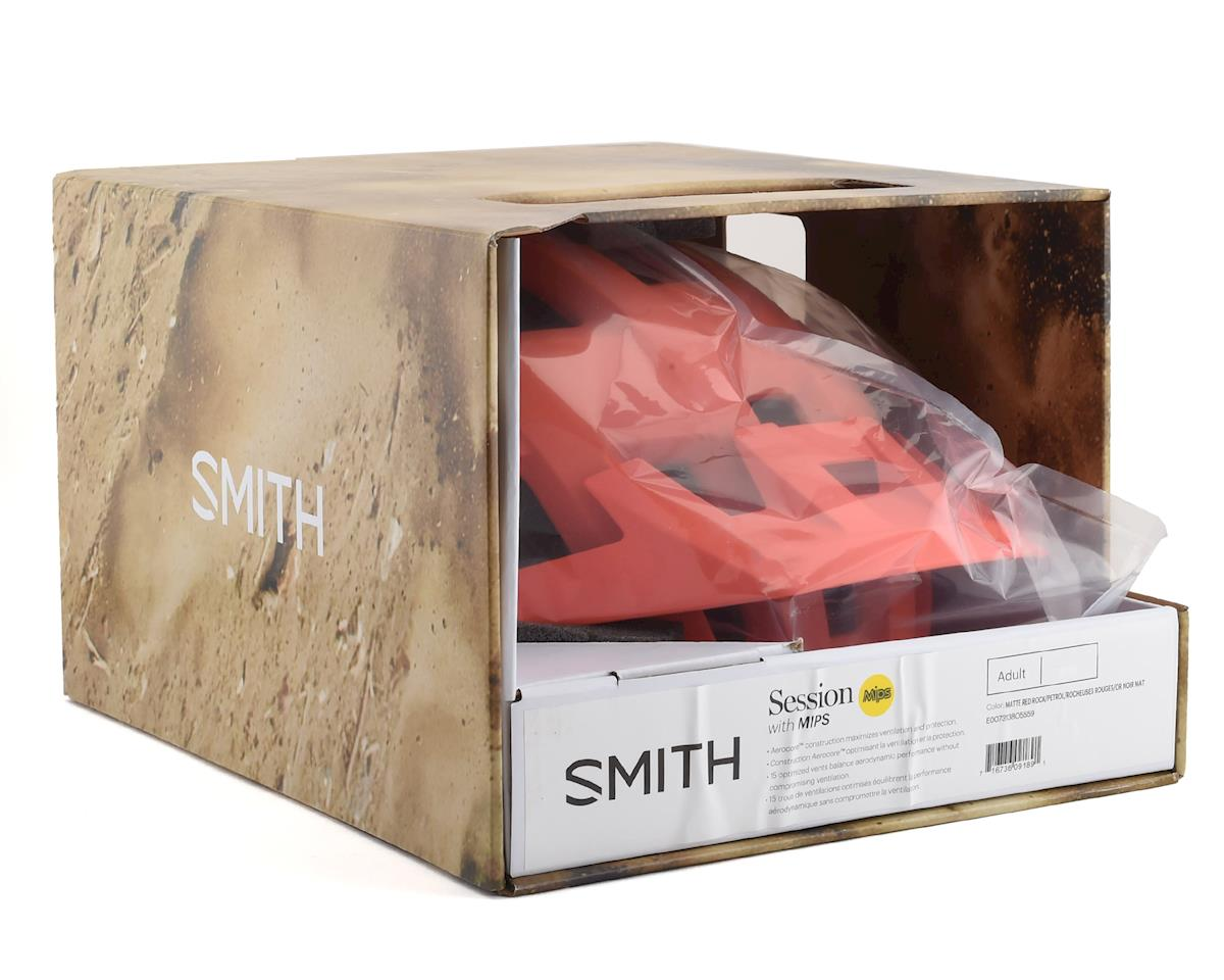 Smith Session Mips (Matte Red Rock/Petrol) (L)