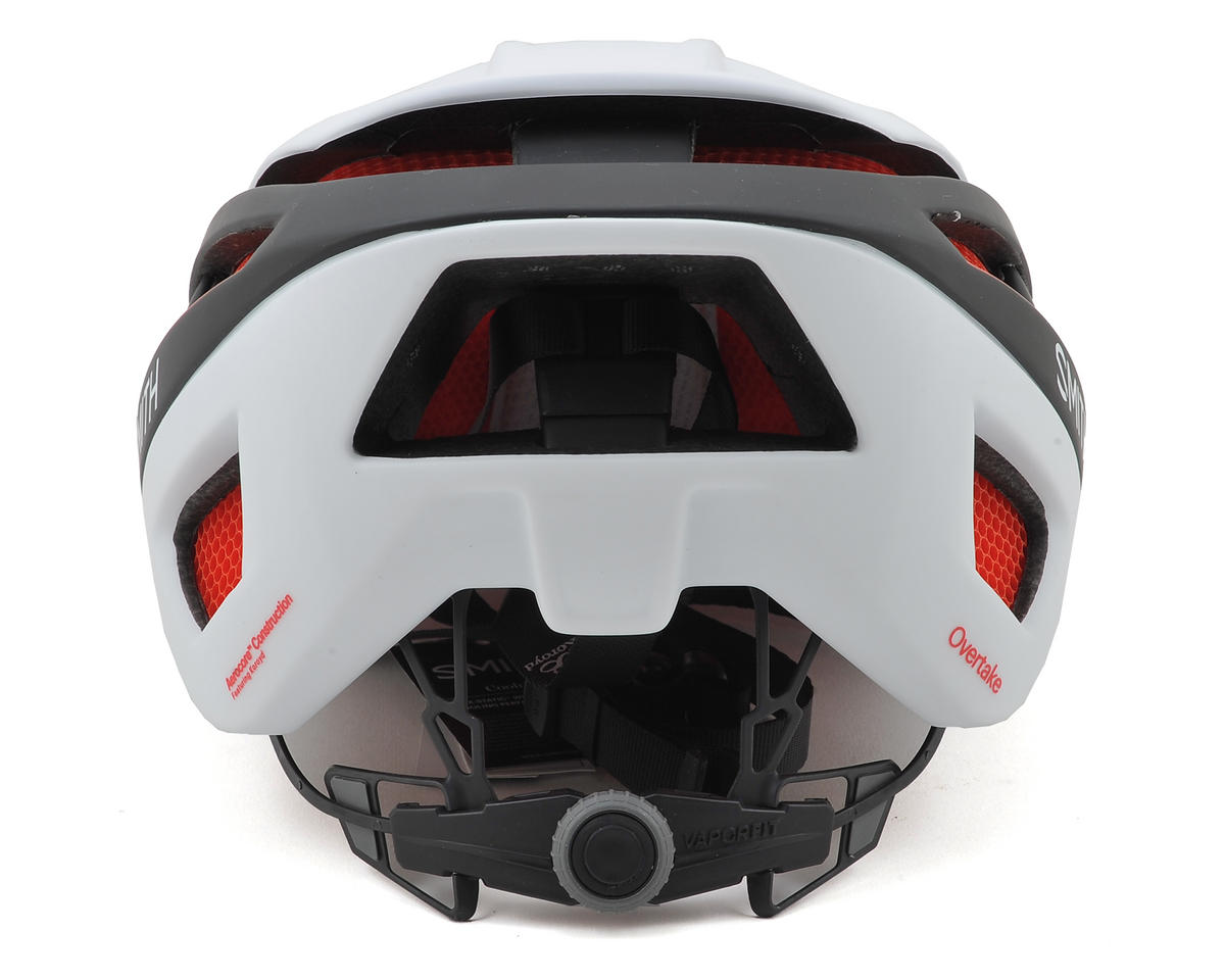 Smith Overtake Road Helmet (Matte White/Black/Red) (M)
