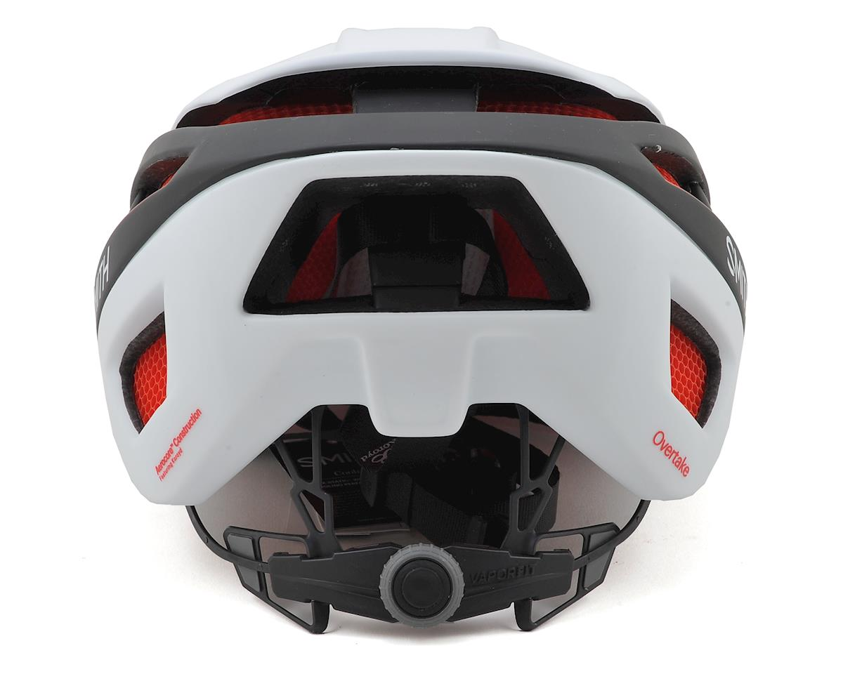Smith Overtake Road Helmet (Matte White/Black/Red) (S)