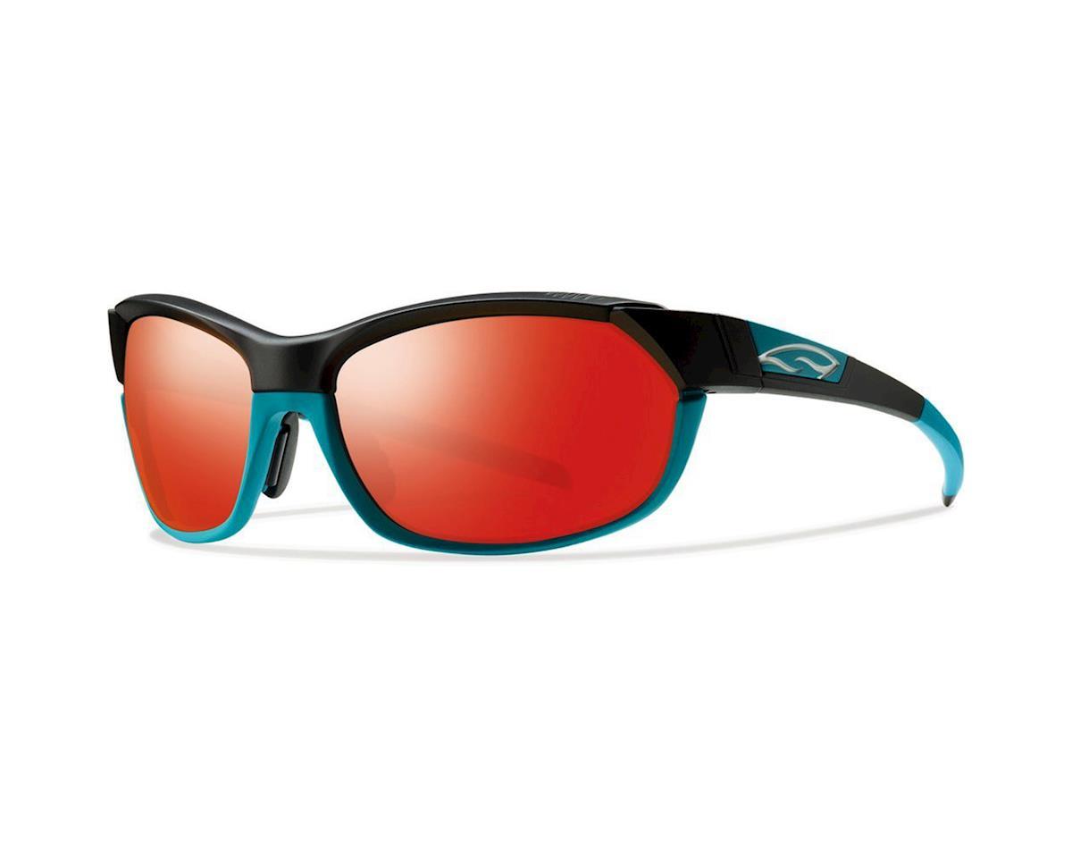 Smith PivLock Overdrive Multi-lens Sunglasses (Blk/Turquoise)