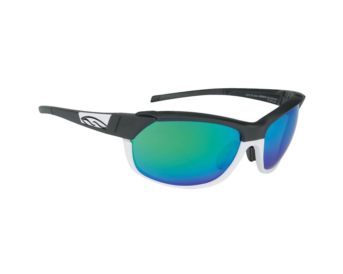 Image 1 for Smith Pivlock Overdrive Sunglasses (Matte Black White)