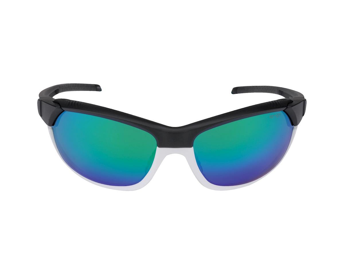 Image 2 for Smith Pivlock Overdrive Sunglasses (Matte Black White)
