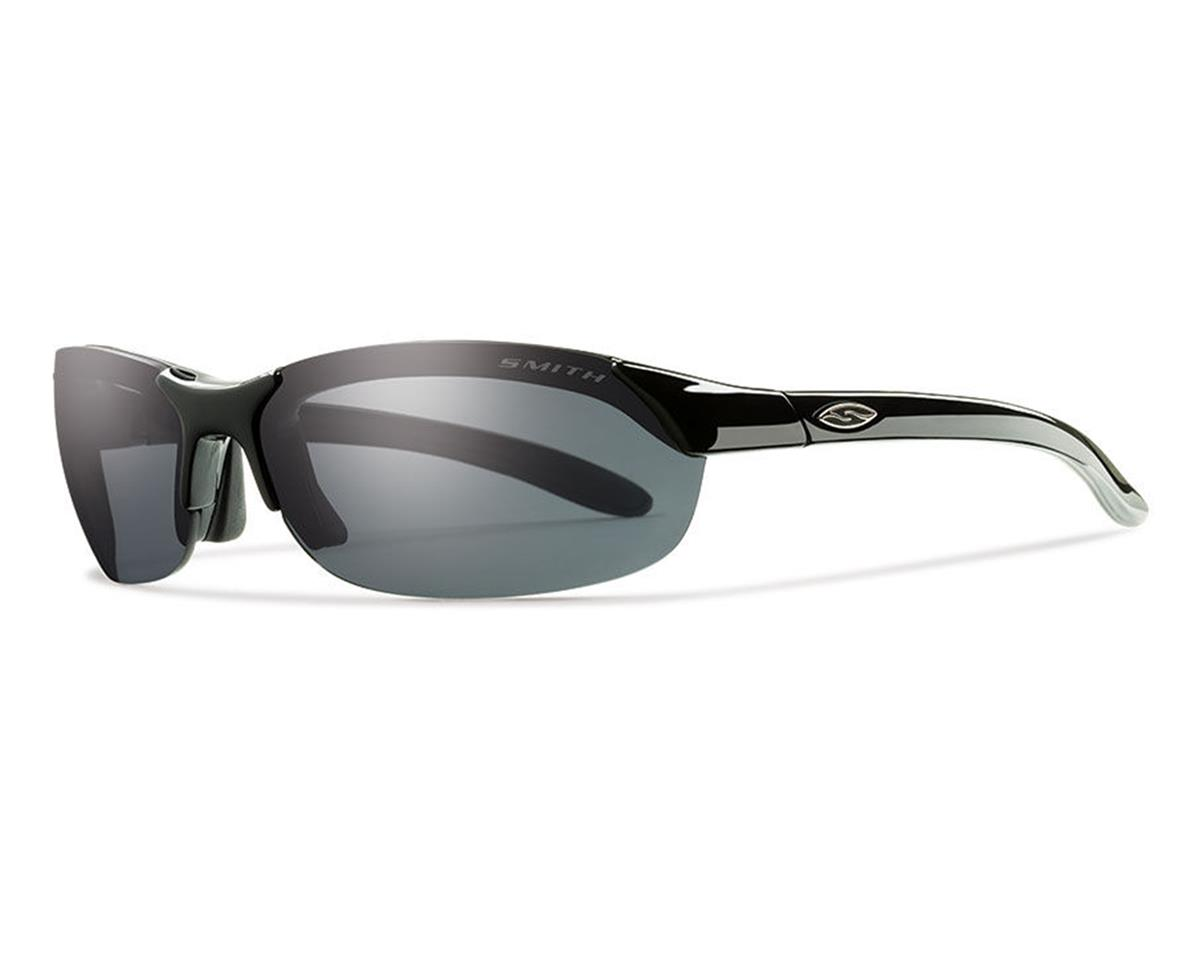 Smith Parallel Sunglasses (Black) (Polarized Grey)