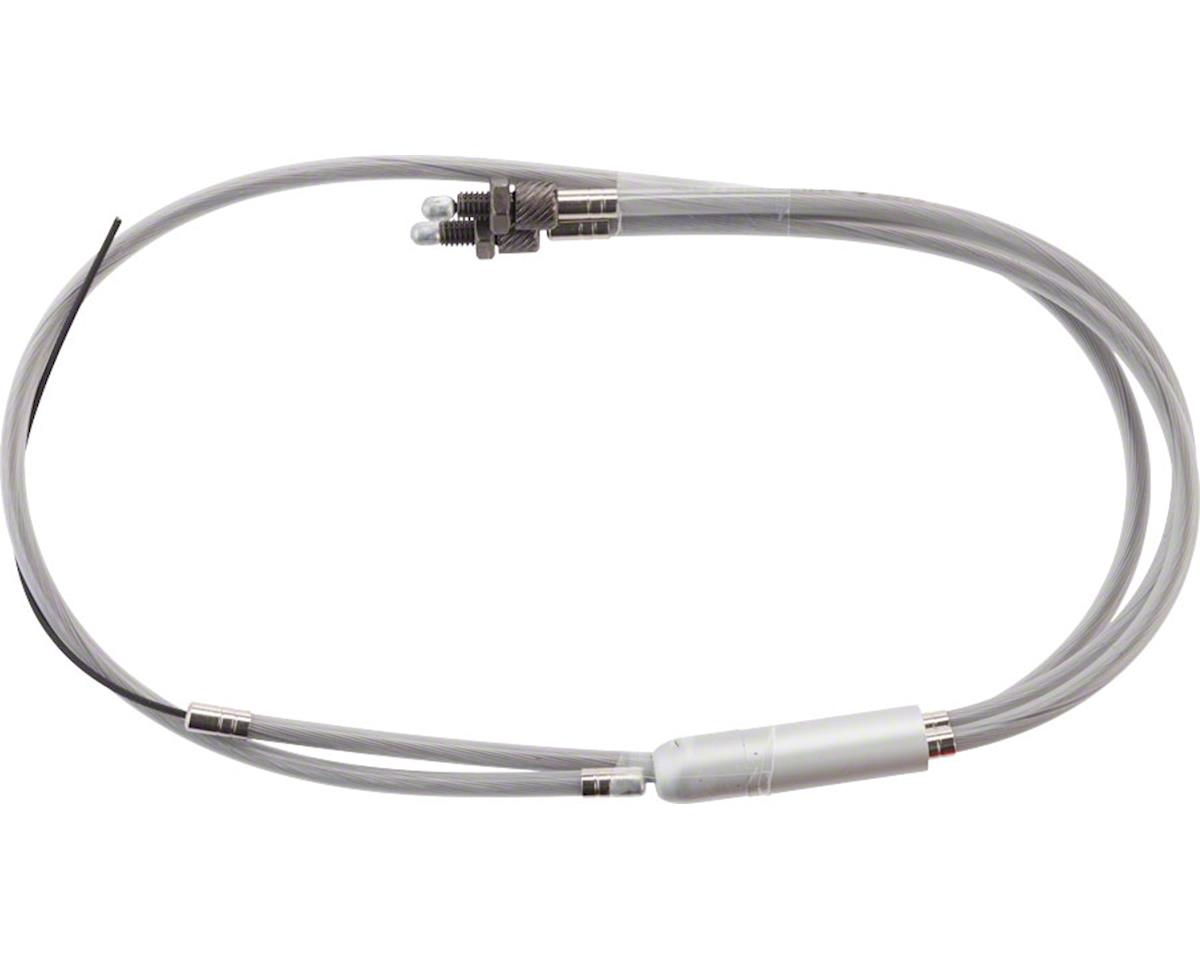 Astroglide Lower Y Cable Clear Housing with Nickel Ferrules