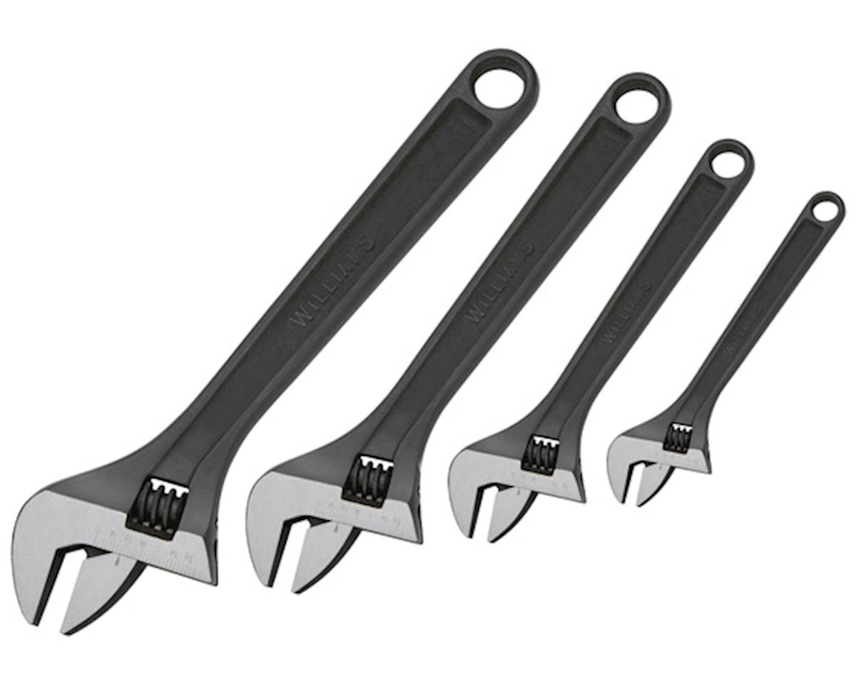 Snap-On Industrial Brands Adjustable wrenches, 4pc set