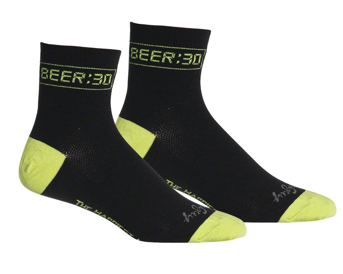 Sockguy Beer Socks (Black) (S/M)