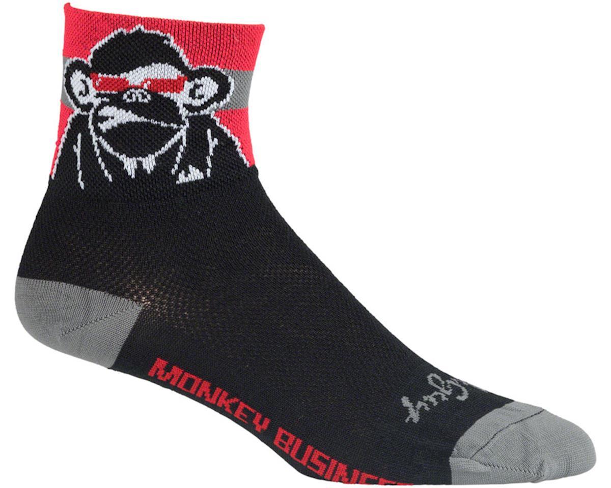 Sockguy Biz Socks (Red/Black)
