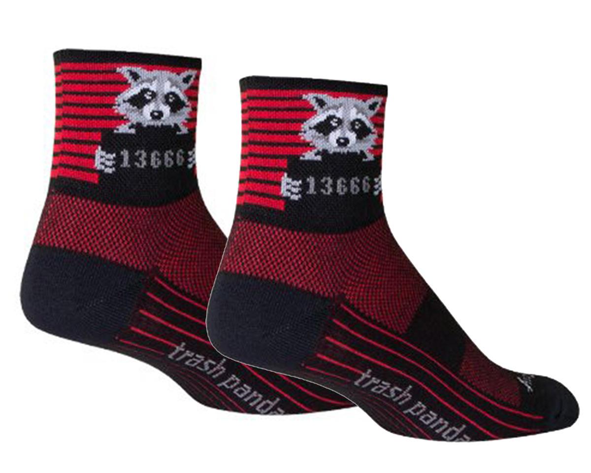 Sockguy Busted Socks (Black/Red) (M)