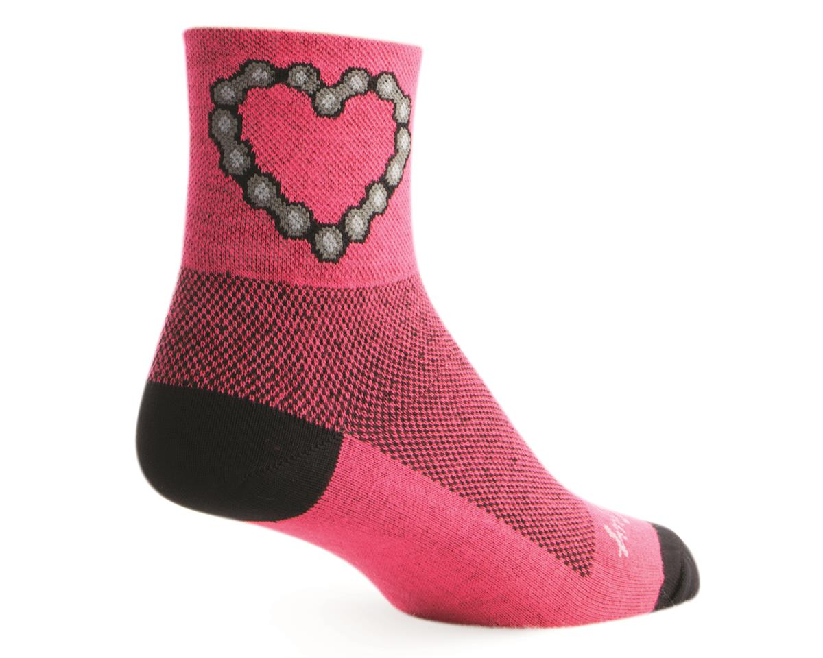 """Sockguy 3"""" Socks (Chain Luv) (L/XL)"""