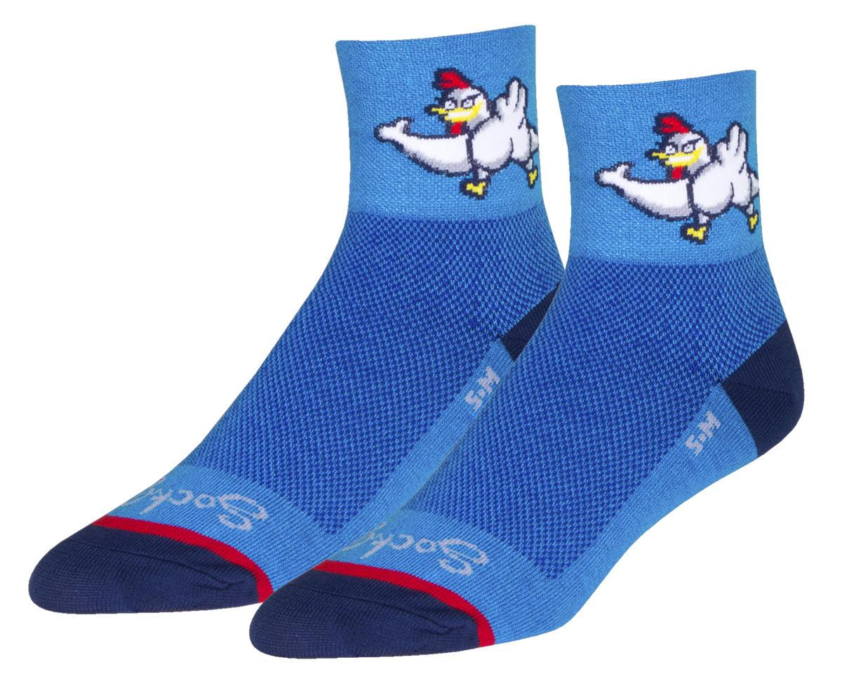 "Sockguy 3"" Classic Socks (Chickenbutt) (S/M)"
