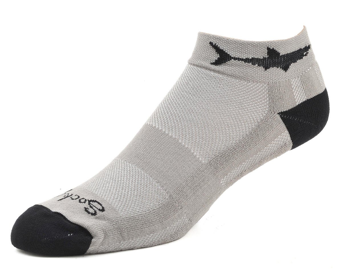 Sockguy Channel Air Land Shark Sock (S/M)