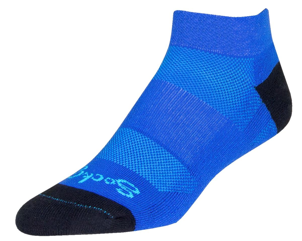 "Sockguy Channel Air 1"" Cuff Socks (Blueberry) (S/M)"
