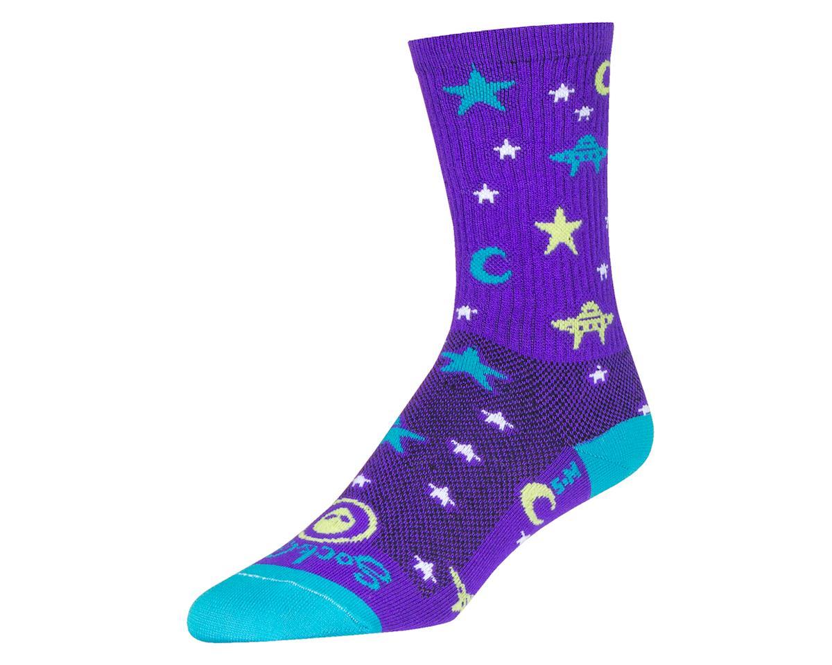 "Sockguy 6"" Crew Socks (Believer) (L/XL)"