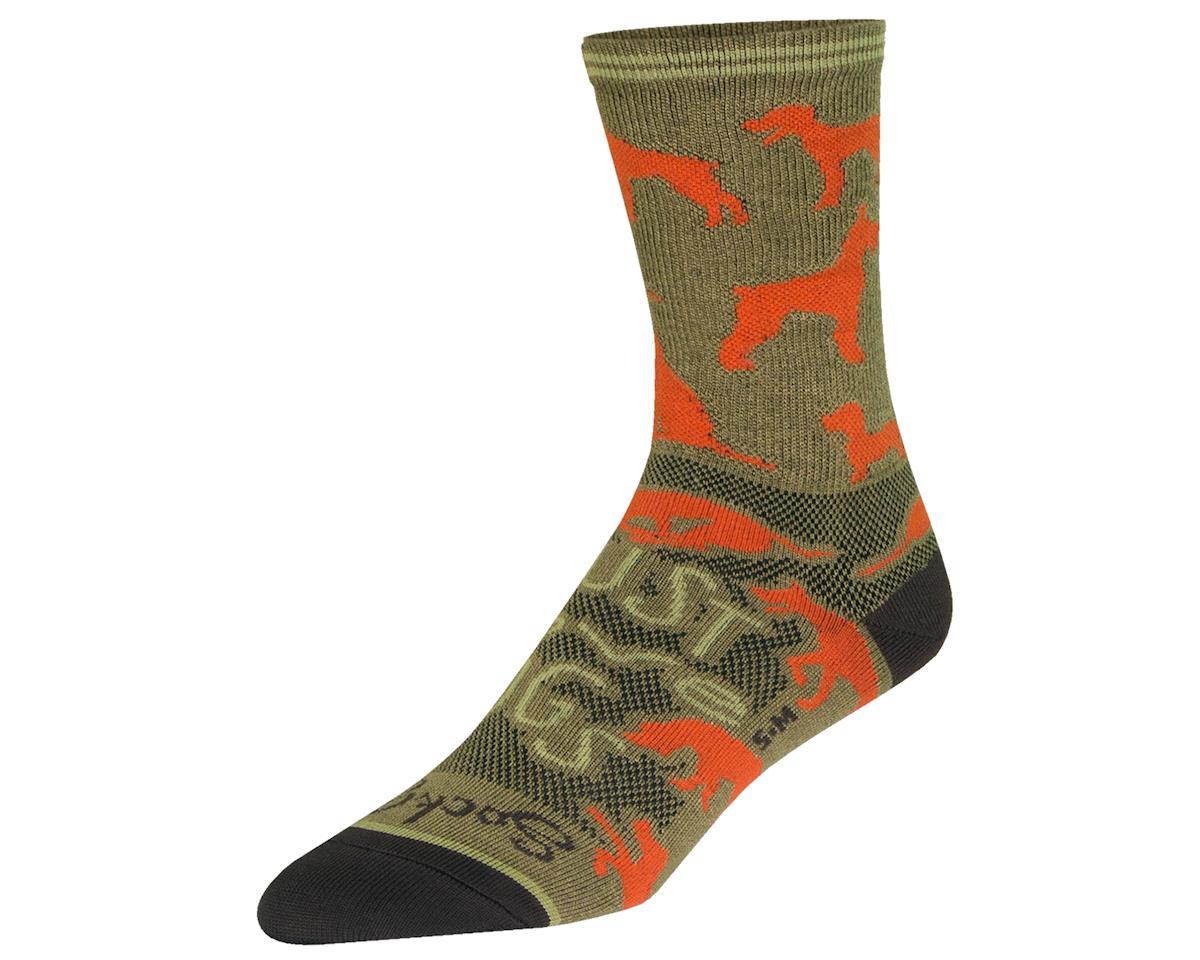 """Sockguy 6"""" Crew Socks (Buddy) (L/XL)"""