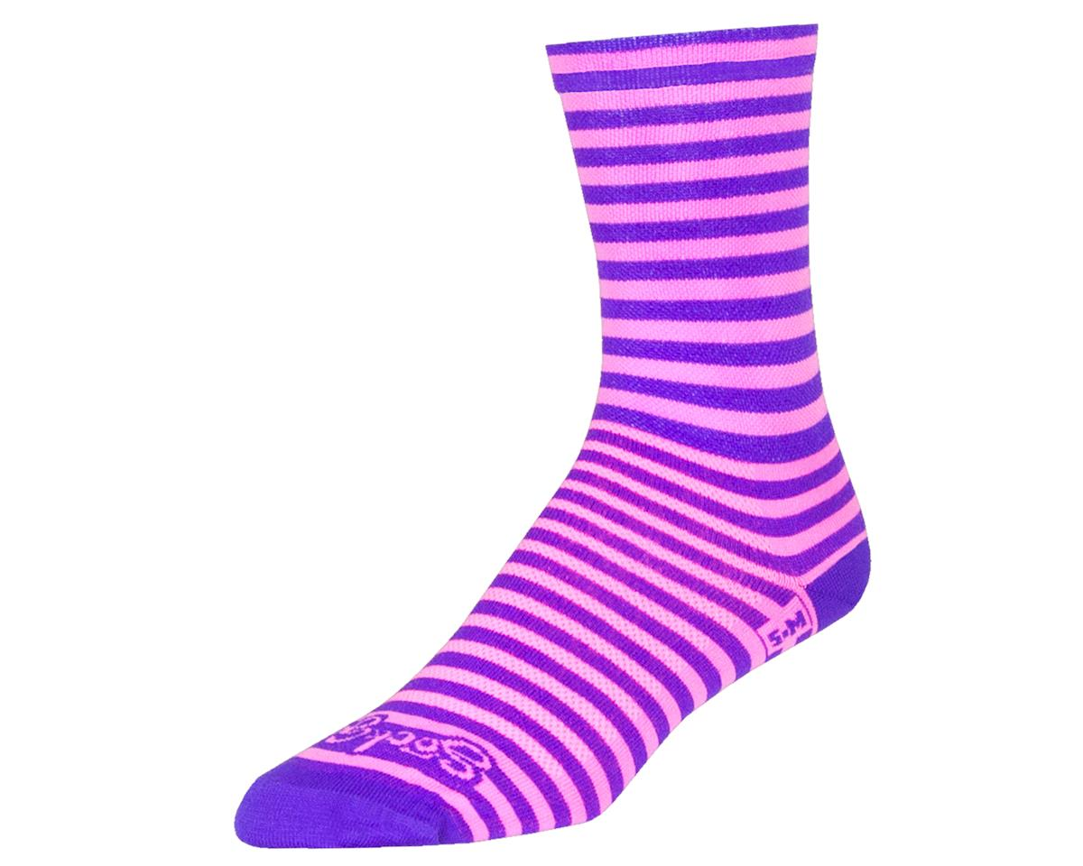"Sockguy 6"" Crew Socks (Candy Stripe) (S/M)"