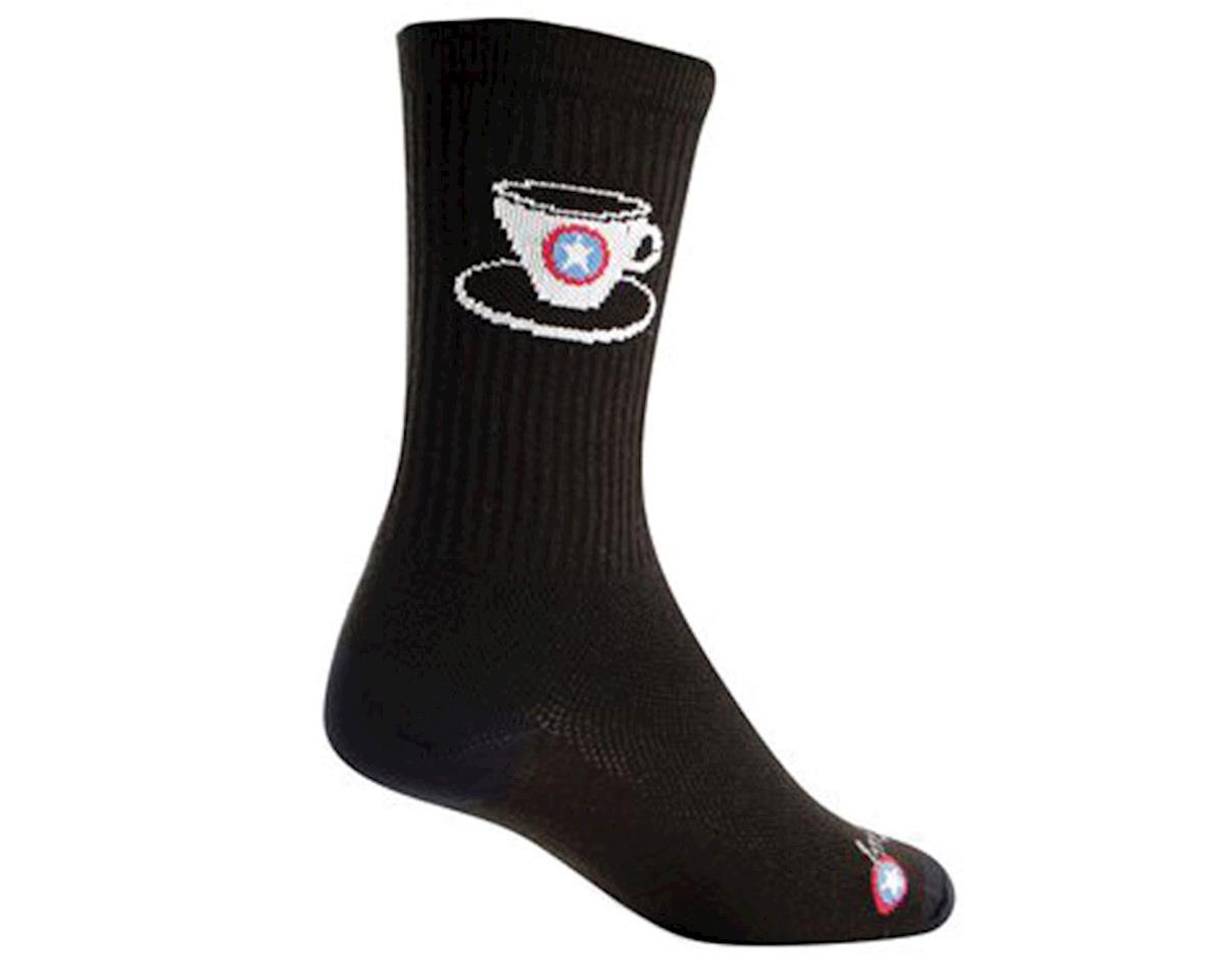 "Sockguy 6"" Socks (Capt'n Coffee) (L/XL)"