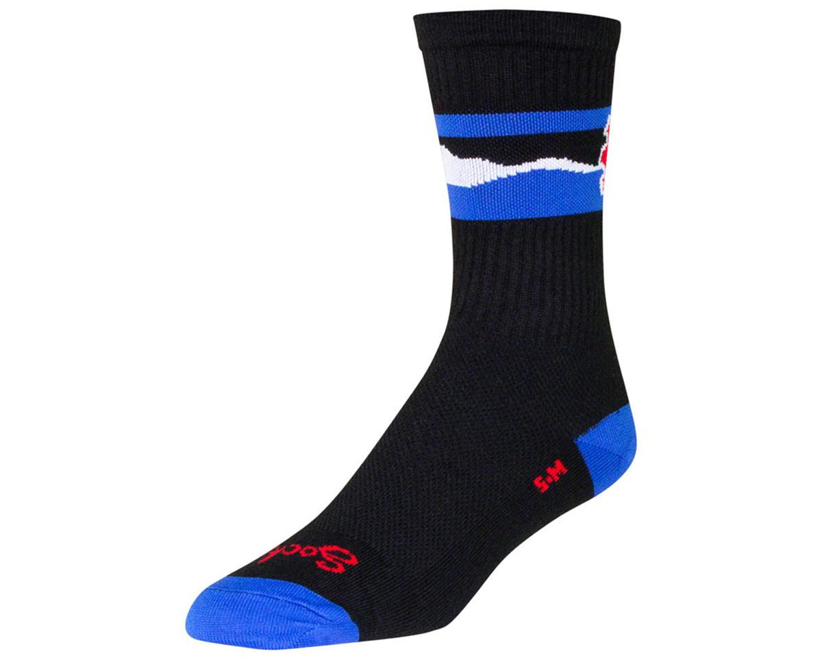 "Sockguy 6"" Crew Socks (Cogorado) (S/M)"