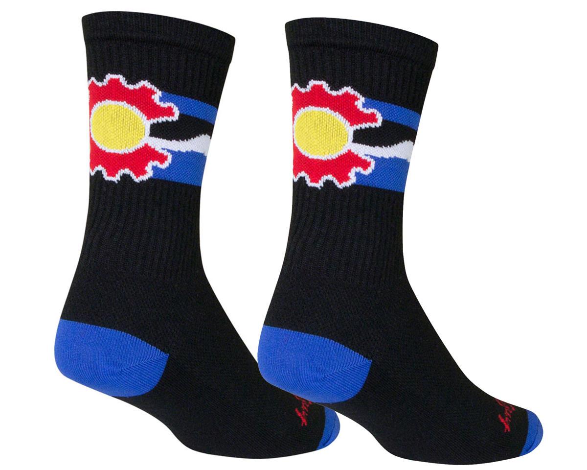 "Sockguy 6"" Crew Socks (Cogorado) (L/XL)"
