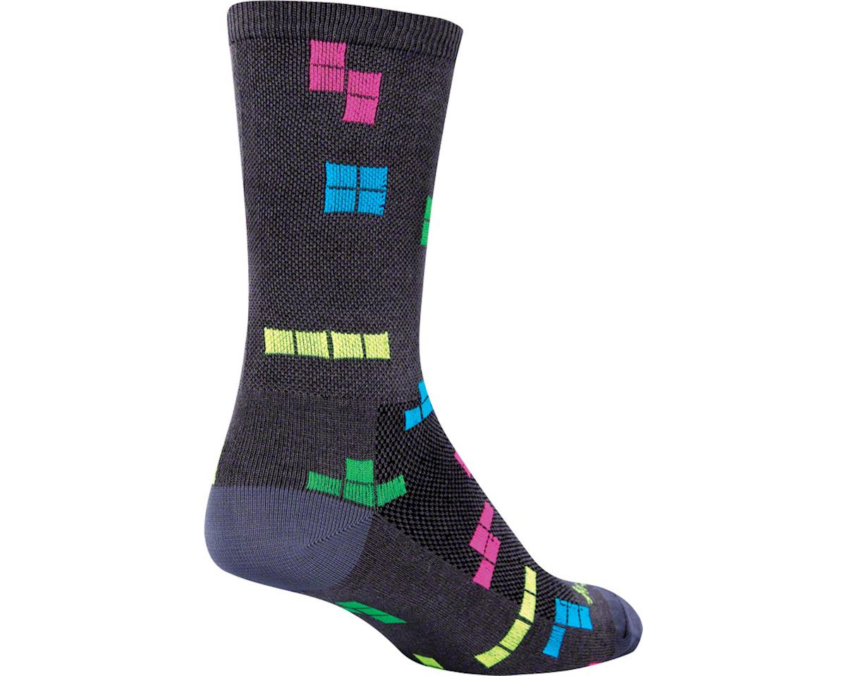 "Sockguy 6"" Crew Socks (Cubic) (S/M)"