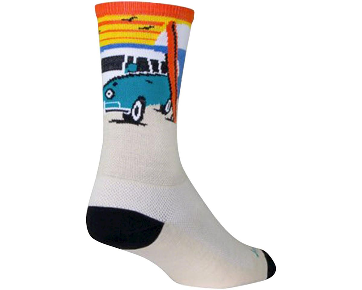 "Sockguy 6"" Crew Socks (Daze) (L/XL)"