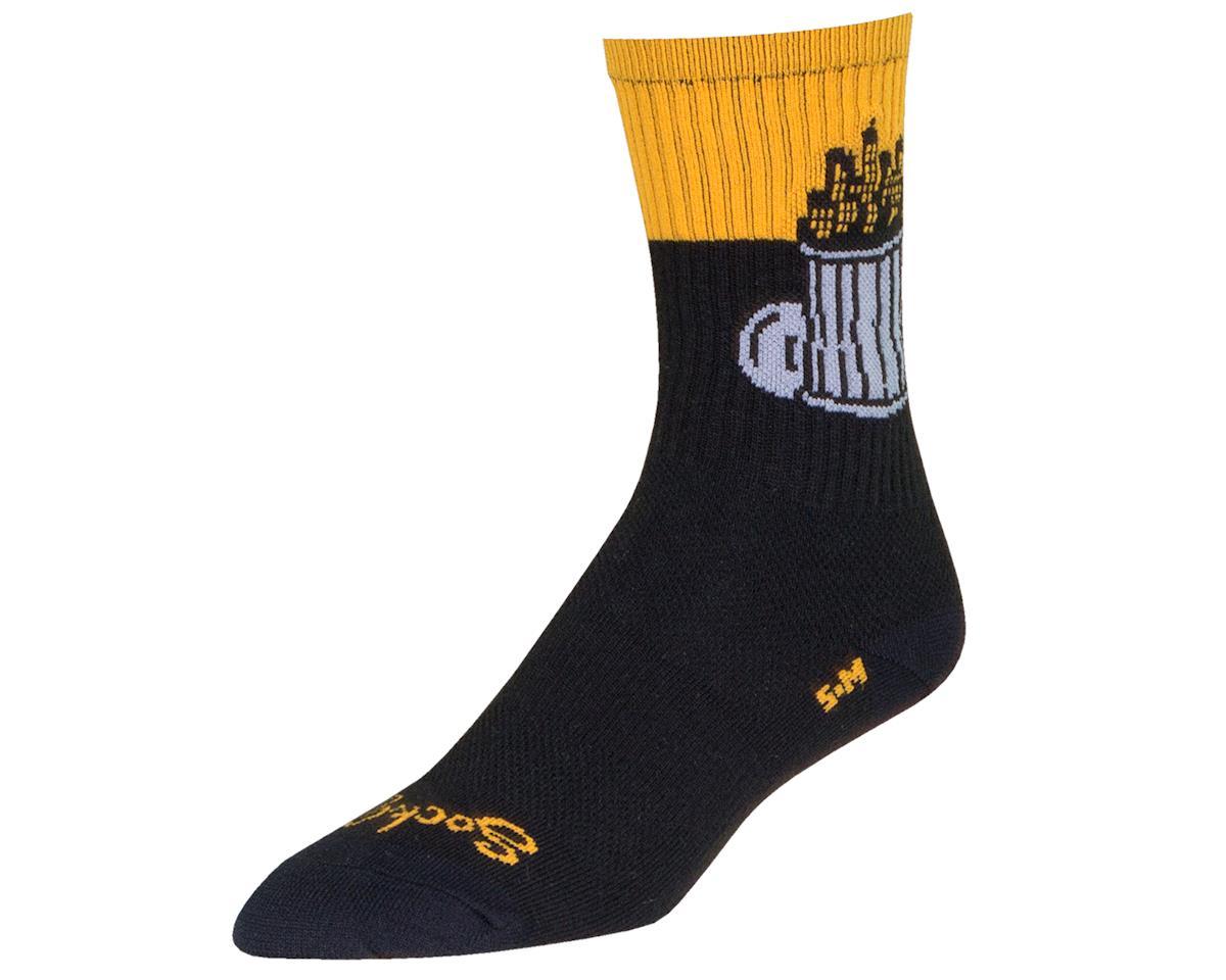 "Sockguy 6"" Crew Socks (Derelict) (L/XL)"